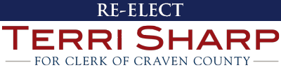 Re-Elect Terri Sharp for Clerk